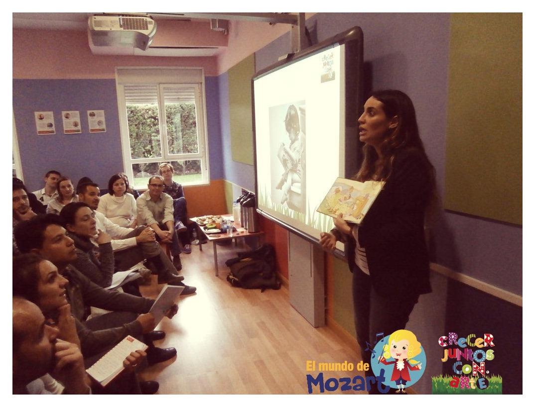 charlas para padres en madrid mozart crecer juntos con arte