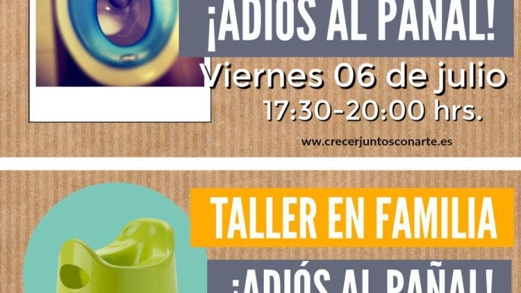 Charla y taller en familia control de esfinteres. Chamartin Madrid. mayo 2019