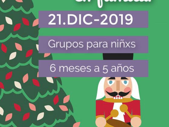 Fiesta de Navidad. Taller sensorial.  Madrid, Chamartin