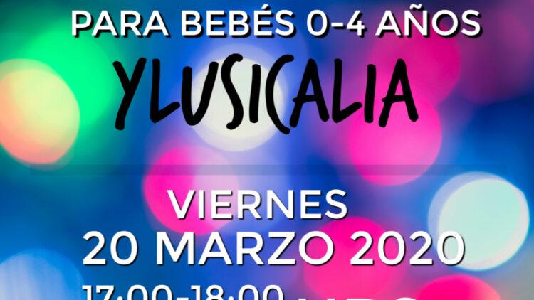 Teatro Sensorial para bebés MARZO 2020