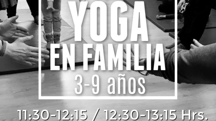Yoga en familia Madrid JUNIO 2019