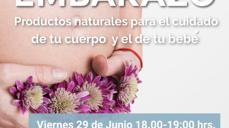 Taller productos naturales en el embarazo