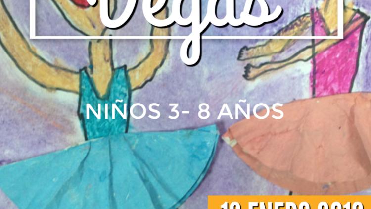 Taller de movimiento y pintura en familia. Degas