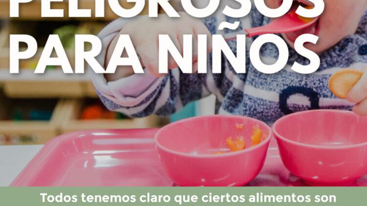 Charla taller Alimentos peligrosos para los niños