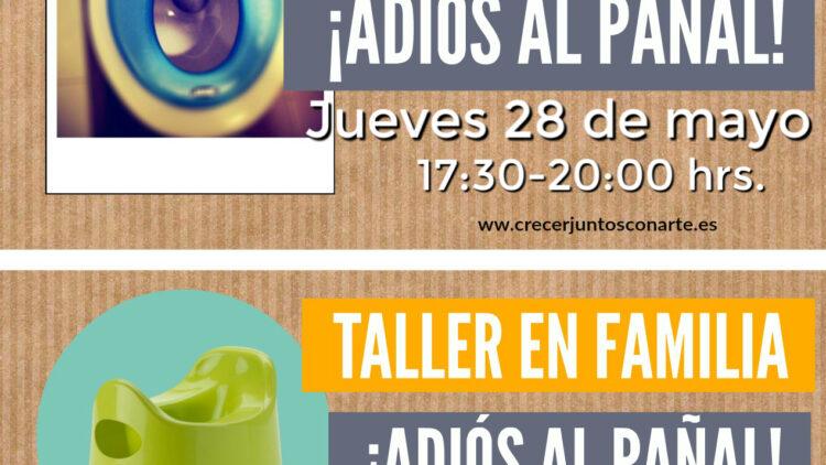 Charla y taller en familia control de esfinteres. Chamartin Madrid. mayo 2020