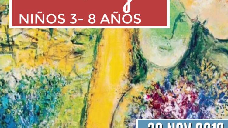 Taller de arte en familia. Marc Chagall