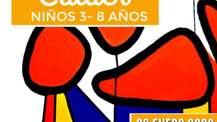 Taller de arte en familia. Alexander Calder