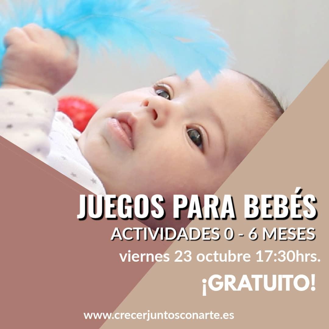 actividades para bebes de 0 a 6 meses
